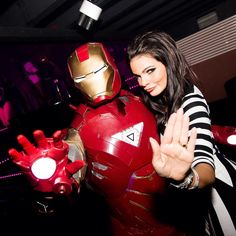 We had a special guest this weekend #ironman #marvel #marvellegends #tonystark #avengers #avenger #carre #belgium #club #clubbing #nofilter #nofilterneeded #photooftheday #partylife #party #partytime #partyphoto #partyphotography #nightclub #nightclubphotos #nightclubphotography #nightlife #nightlifephotography #cosplay
