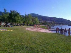 Playa Fluvial. San Clodio. Quiroga. Lugo