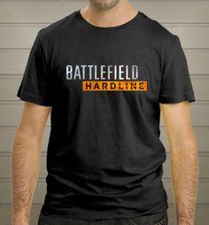 BATTLEFIELD HARDLINE shirt games Man Woman Black T-Shirt New - T-Shirts, Tank Tops