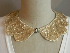 sequin collar