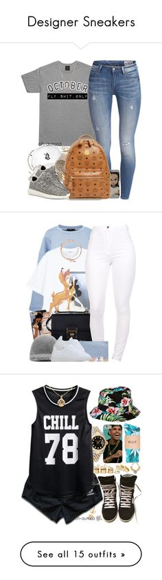 """Designer Sneakers"" by oh-aurora ❤ liked on Polyvore"