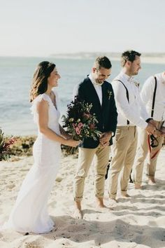 Jade Chris S Bright Western Australian Beach Wedding