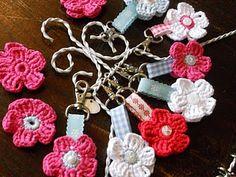 INSPIRATION: Crochet Keychains