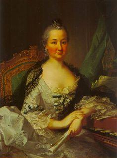 Kurfürstin Elisabeth Auguste of Sulzbach at the spinett by Johann Heinrich Tischbein (Kurpfalzisches Museum, Heidelberg) | Grand Ladies | gogm