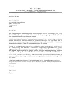 13 Best Teacher Cover Letters images | Cover letter for resume ...