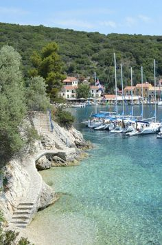 Kioni, Ithaca, Greece - it really is as beautiful as this shows