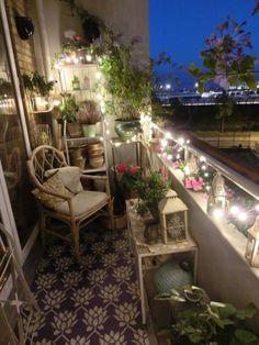 Small balcony, beautiful retreat