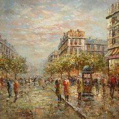 Obraz - Pařížská ulice II.