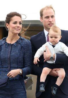 Prince William, Princess Kate  Prince George