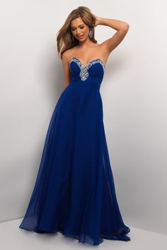 Beautiful Blue Ball Gown