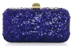 Halston Heritage Evening Frame Sequin Clutch