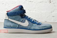 """Nike Air Force 1 Downtown Hi """"Slate Blue"""""""