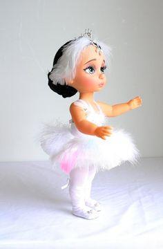 OOAK Animator Doll 8 by MALANEDOLL/ White Swan Ballet Doll/   Etsy Disney Princess Dolls, Disney Dolls, Disney Animator Doll, White Swan, Swan Lake, Rapunzel, Beautiful Dolls, Character Art, Doll Clothes