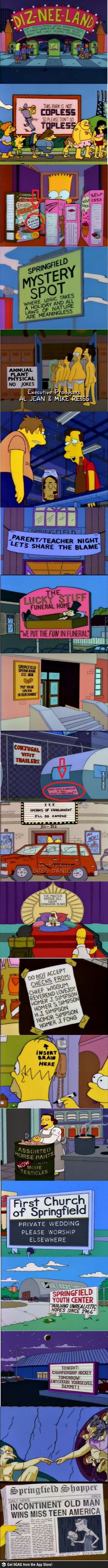 Only in The Simpsons