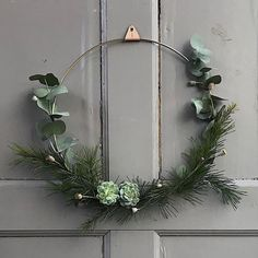 "Scandinavian|Design + Function on Instagram: ""How about this simple but festive way of decorating your front door this Christmas ...?"""