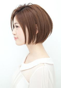 【ANTI】さわやかストレートボブ(TOMO) hs66048   ANTI(アンティ)のヘアスタイル・髪型・ヘアカタログを探すなら楽天ビューティ。誰もが憧れるストレートボブ。大人の雰囲気を出しながら全体の丸みが女性らしい印象に。 Bob Haircuts For Women, Cute Haircuts, Cute Hairstyles For Short Hair, Short Hair Cuts, Short Hair Styles, Korean Short Hair, Short Curls, Love Your Hair, Hair Dos