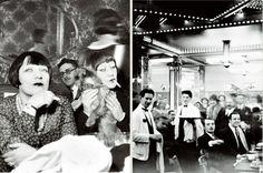Mémoires de Montparnasse – Crédits photos : Collection Roger-Viollet (à gauche) et Patrimoine La Coupole (à droite)