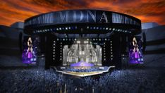 Madonna MDNA Tour Renderings