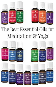 Essential Oils for Meditation and Yoga