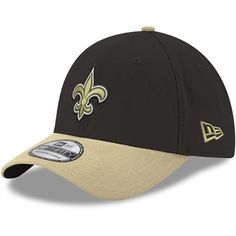 watch b5722 c1f9f Men s New Orleans Saints New Era Black Gold Team Classic Two-Tone 39THIRTY  Flex Hat, Your Price   28.99