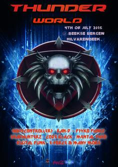 Poster 1 - Thunderworld - Femke van Disseldorp