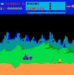 Moon Patrol Arcade Game, Moon Patrol Video Game - ilovethe80s.com Moon Patrol, Classic Video Games, Retro Toys, Gaming Computer, Old Trucks, Pinball, Arcade Games, Childhood Memories, Nostalgia