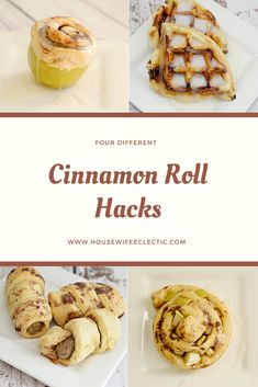 Four Cinnamon Roll Hacks You Need in Your Life - Housewife Eclectic #PillsburySpringBaking #ad @Walmart