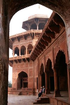 Red Fort Delhi India *** by CitizenFresh