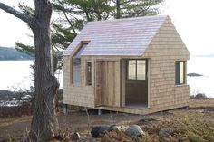 Canoe cabin /Cheng + Snyder architects source   MdA · MADERA DE ARQUITECTO