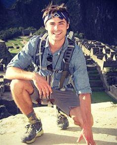 Zac Efron è riapparso su Instagram dopo il rehab © Instagram .... y dopo su viaggio a Machu Picchu en Peru