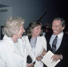 Ethel Kennedy, Courtney Kennedy and singer Andy Williams