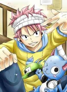 Fairy Tail - Natsu and Happy