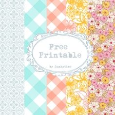 Free Printables of all kinds for all Holidays, etc.