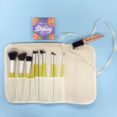 Pin #1 for this weeks' Pin It to Win It: the 10 PC Eco Brush Set, Floral Blush Duo in Daisy and BH Lip gloss in Peace, Love & Mod ! Enter here: woobox.com/9xse8a for a chance to win!