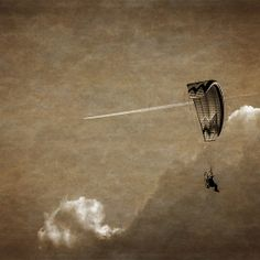 Paraglider and the Plane