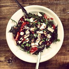 Dagens salat.. - @Irene Finne- #webstagram