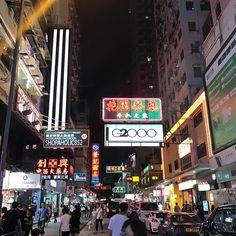 Neon Night of Mongkok. The beauty of Hong Kong street. #travelblogger #hongkong http://ift.tt/2qJZfAx
