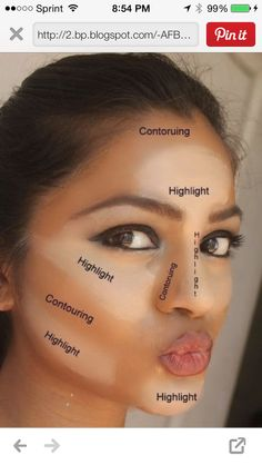 Want to know how to contour!