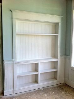 Built in storage for kitchen or where ever you need it. Another Great Idea for using space ... especially in a small room..