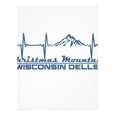 #Christmas Mountain Village  -  Wisconsin Dells - W Letterhead - #office #gifts #giftideas #business