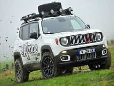 another modded Euro trailhawk from France. - Jeep Renegade Forum