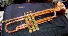 Calicchio Custom Ultra Copper Solo Bb Model 3 9 Pro Trumpet eBay