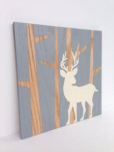Hand Painted Woodland