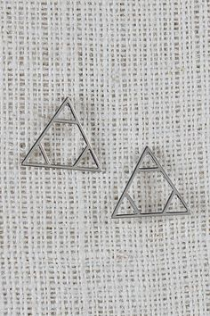 Let the pop of your look be the Pyramid Stance Earrings. These earrings feature a triangular shape with cut triple triangle cut outs and a hexagon shape middle, finished with a stud back. Delta Sorority, Sorority Life, Delta Tattoo, Tri Delta, Hexagon Shape, Earrings, Challenge, Curves, September