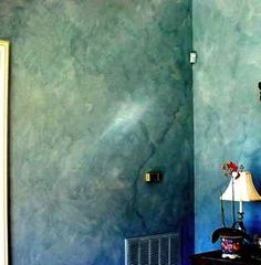 Color wash faux painting can closely imitate a weathered exterior wall. With just paint, glaze and a brush, you can create this very impressive finish. Faux Finishes For Walls, Faux Walls, Textured Walls, Faux Painting Walls, Diy Painting, Sponge Painting Walls, Wall Paintings, Painting Furniture, Faux Painting Techniques
