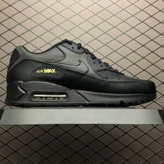 Cheap Nike Air Max 90 Shoes Premium Black Gold 700155-011-4 b0861f7ac
