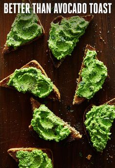 The Next Avocado Toast Has Finally Arrived Toast says goodbye to avocado and welcomes peas as its new best friend.