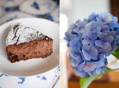 Scandi Home: Healthy Birthday Cake - Almond, Hazelnut, Orange a...