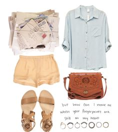 """""""Everything's Peachy"""" by morafersure ❤ liked on Polyvore"""