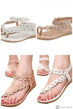 7fa6e908e2f69 Summer Sandals Amazon Cheap Flowers Stylish Comfy Cool. Helscs · Women s  Pretty Sandals · Birkenstock Women s Cosma Wave Black Stretch Sandal ...